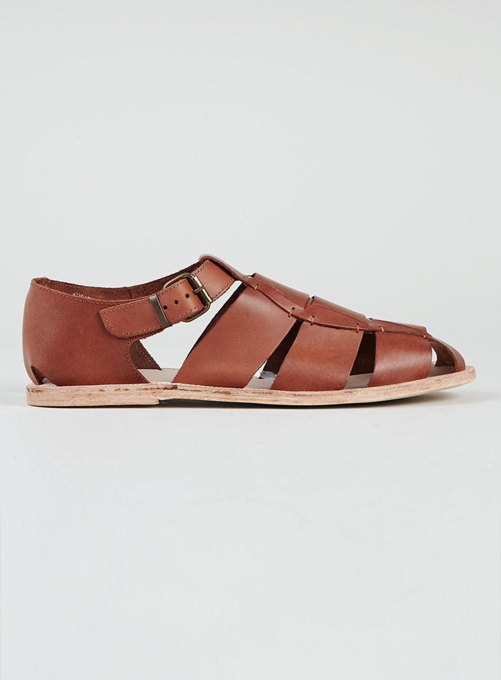 Hudson Agali Tan Leather Sandals | Tan
