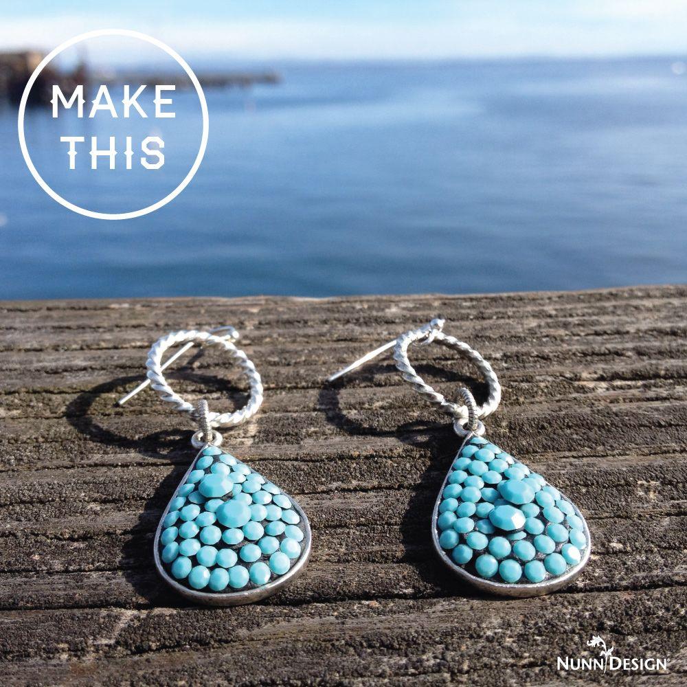 Make These Mariana Earrings | Drop earrings, Mariana and DIY tutorial
