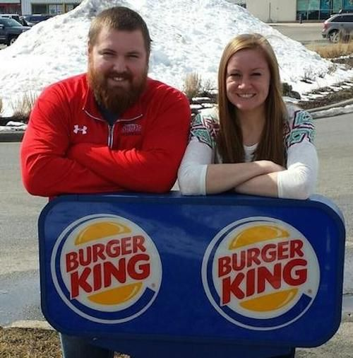 Burger King To Pay For Burger King Wedding Of Namesake Couple King Recipes From Heaven Mister And Misses