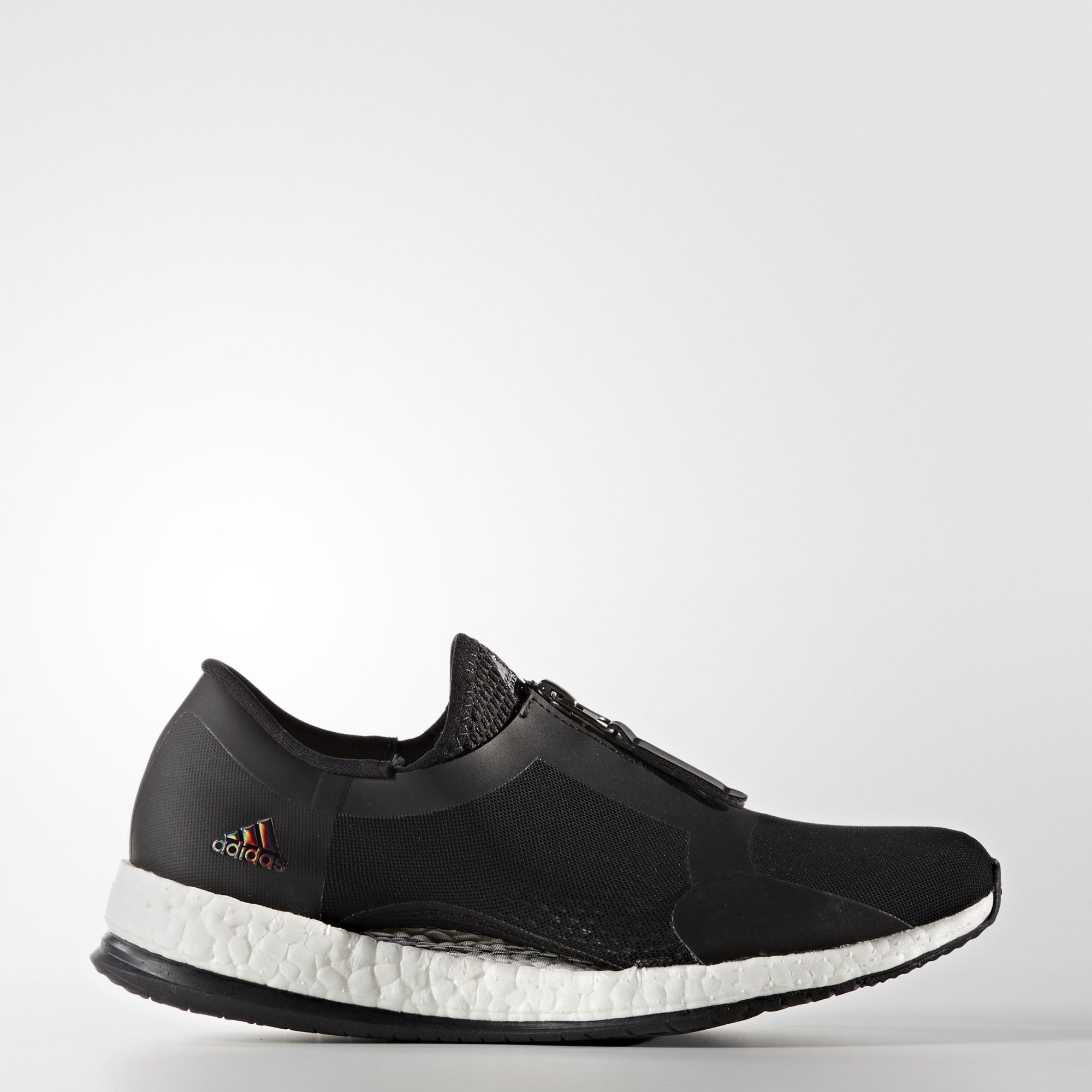 adidas Pure Boost X Trainer Zip Shoes - Black | adidas US