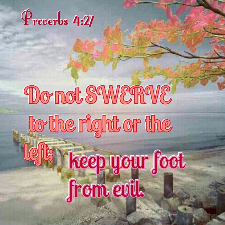 Image result for Proverbs 4:27