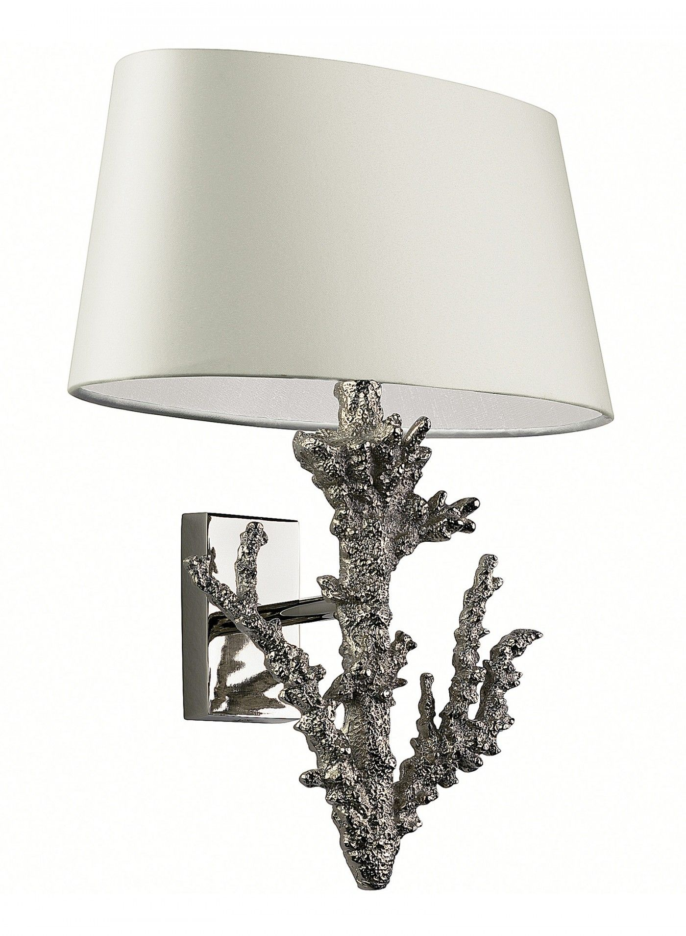 Coral Nickel Wall Light Mister Smith Interiors