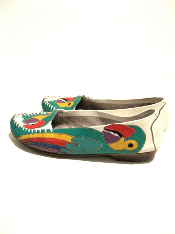 Peacocks moccasins