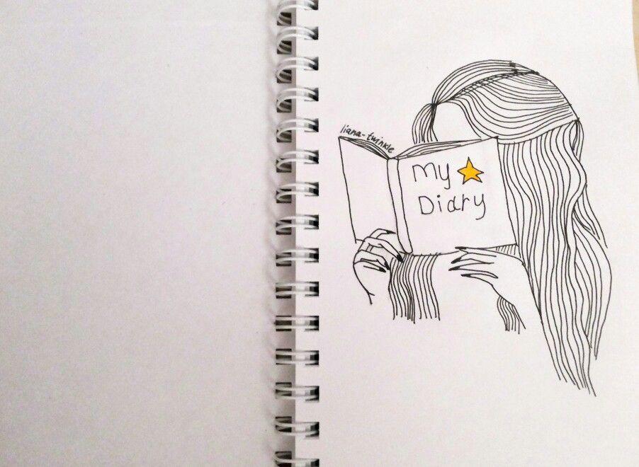 Artbuk Sketchbuk Artbook Sketchbook Girl Mydiary Easy