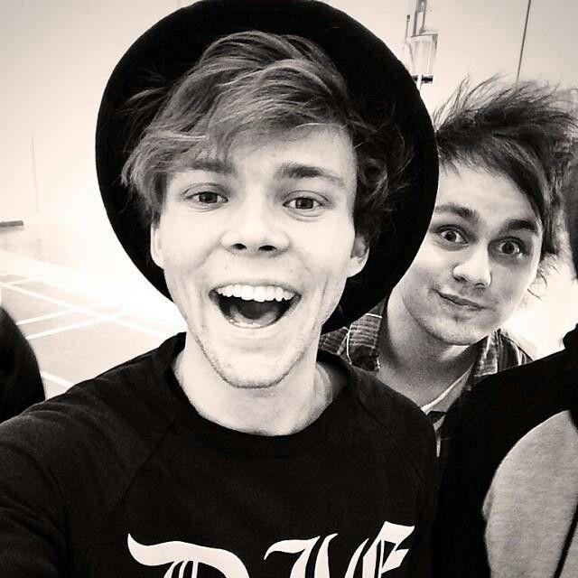 Ash and Mickey