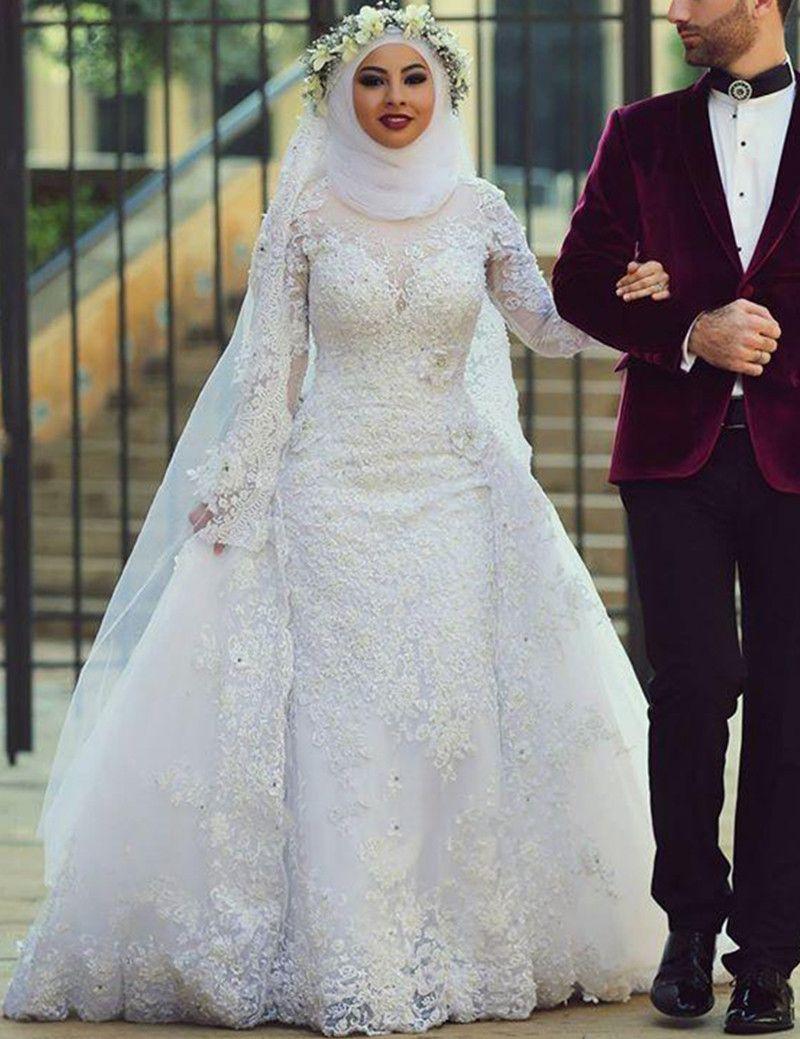 Cheap muslim wedding dress, Buy Quality hijab wedding dress directly ...