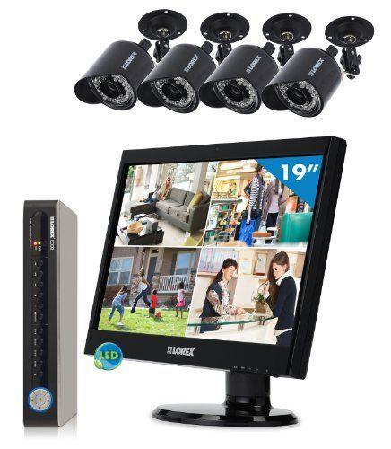 Lorex LH138501C4L19B Vantage 8 Channel, 4 Camera