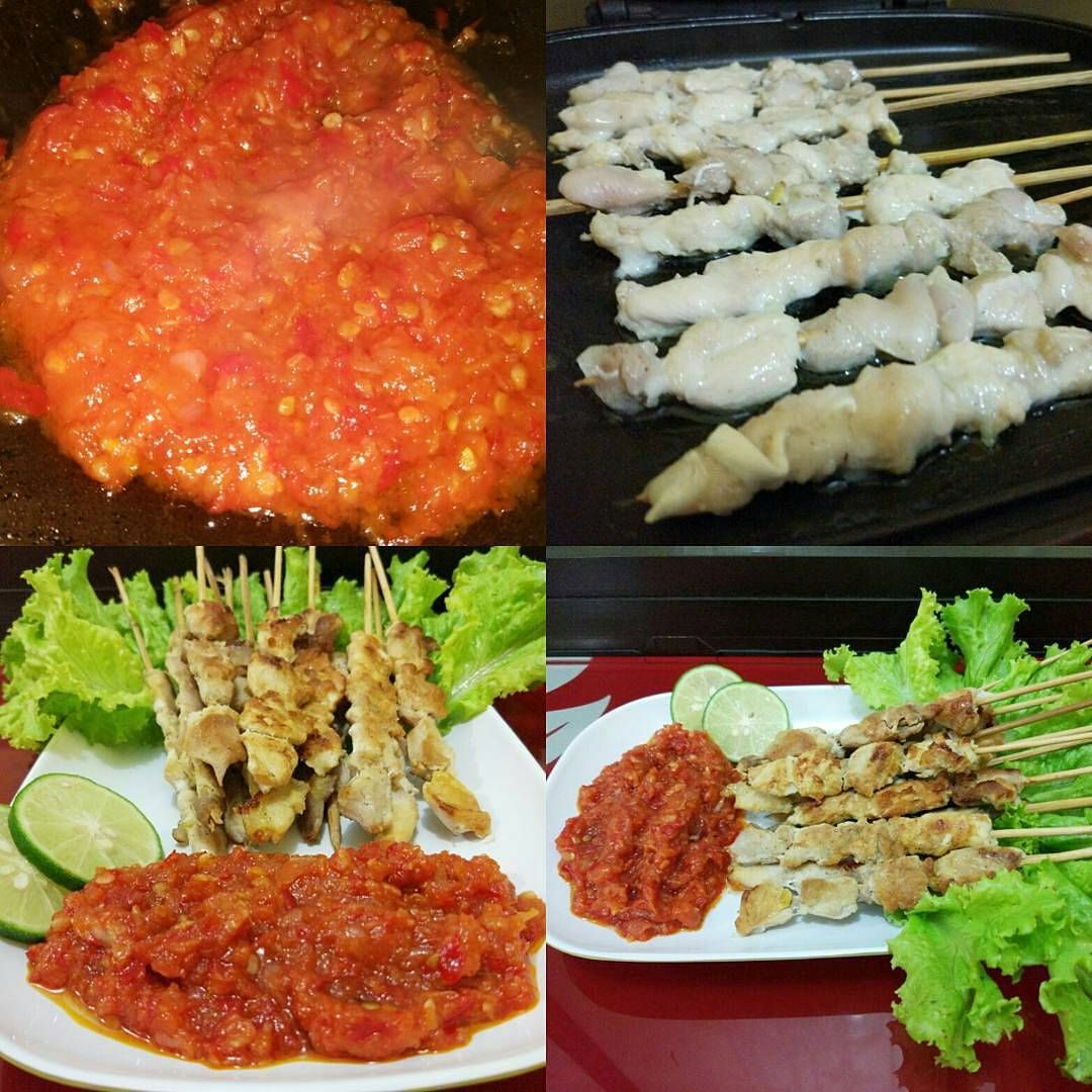 Resep Sate Taichan Yang Lagi Hits Resep Masakan Resep Resep Masakan Indonesia