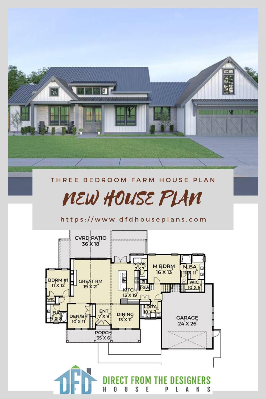 New House Plan New House Plans House Plans Architectural House Plans