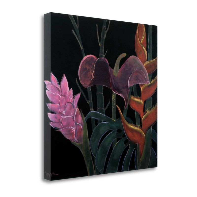 In Bloom I Graphic Art Print On Wrapped Canvas In 2021 Fine Art Giclee Prints Art Graphic Art Print
