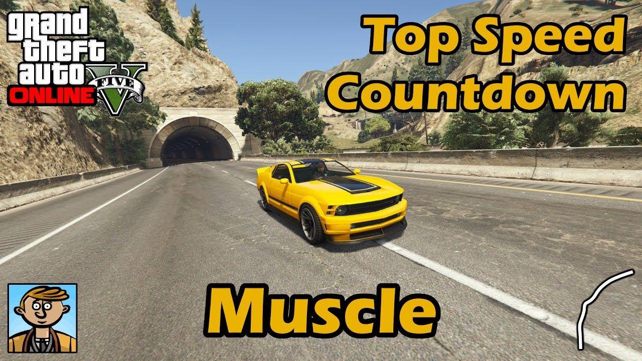 Fastest Muscle Cars (2017) - GTA 5 Best Fully Upgraded Cars Top Speed Countdown #GrandTheftAutoV #GTAV #GTA5 #GrandTheftAuto #GTA #GTAOnline #GrandTheftAuto5 #PS4 #games