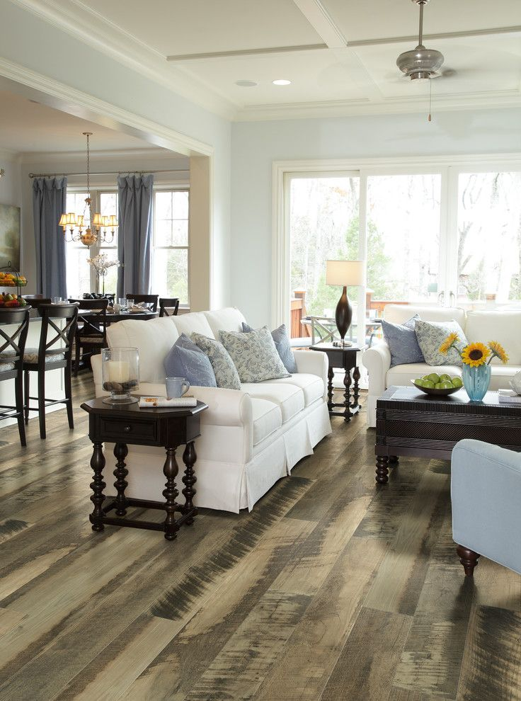 wood flooring ideas for living room sofas pillows table ...