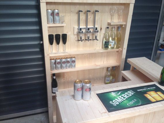 Full Home Bar And Optic Back Bar Micro Pub Summer House Bar