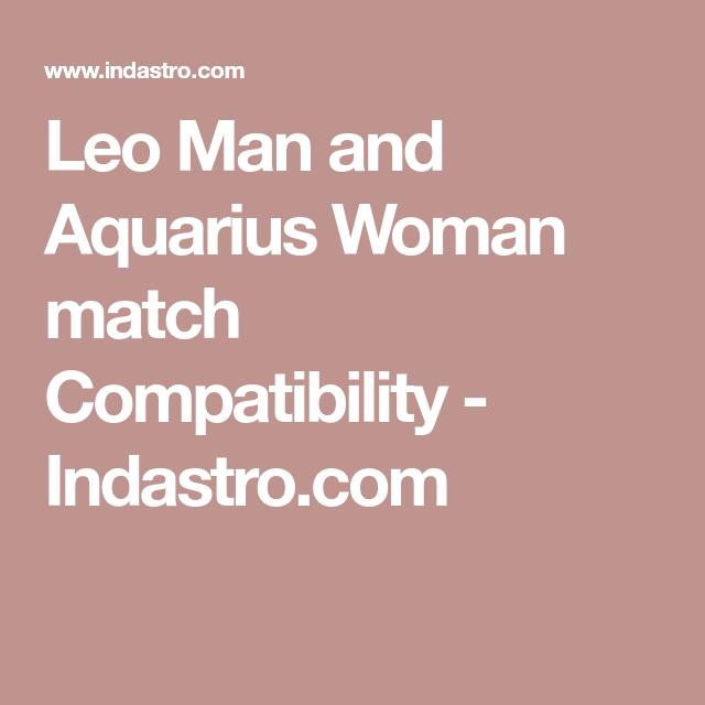 Leo aquarius marriage compatibility