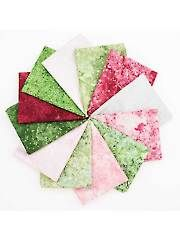 Fat Quarters - Stonehenge Rosebud II Fat Quarters - 12/pkg.