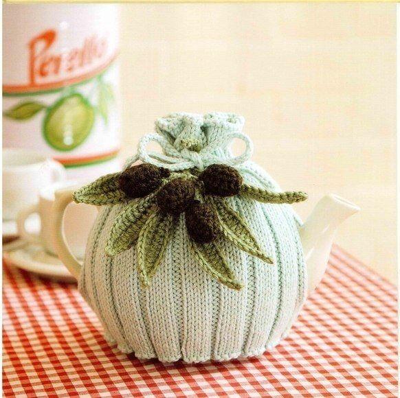 Teteras forradas de Crochet   té   Pinterest   Teteras, Ganchillo ...