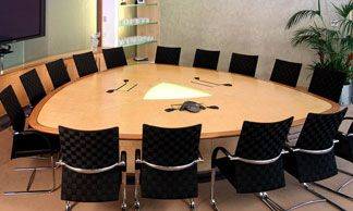 Hyform Triangular Conference Table M Designs Pinterest Office - Triangle conference table