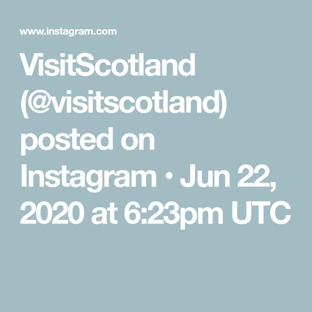 VisitScotland (@visitscotland) posted on Instagram • Jun 22, 2020 at 6:23pm UTC