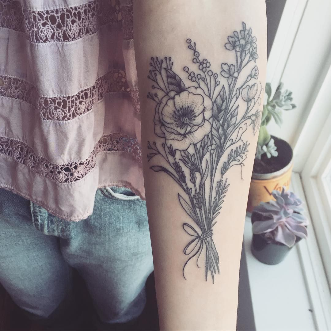 Pin by Monique Florez on tats for me | Pinterest | Wild flower ...