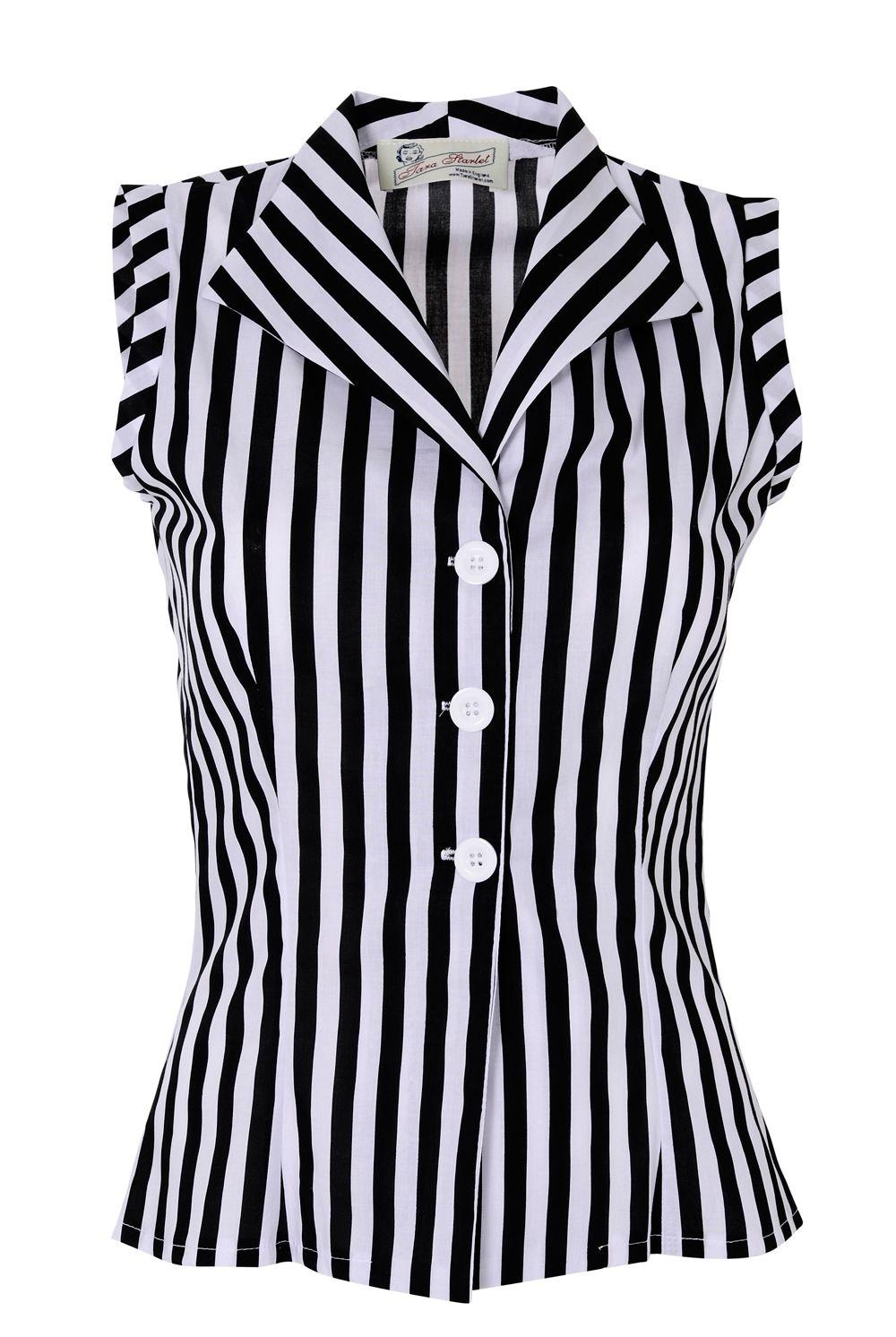 Tara Starlet | Sleeveless Shirt