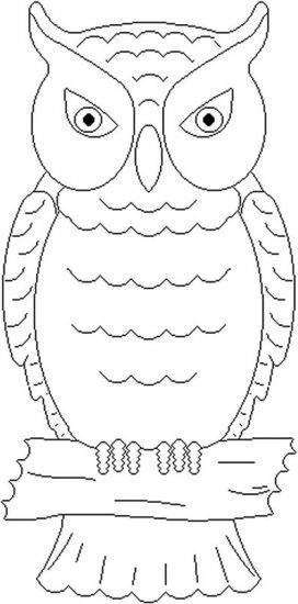printable owl coloring pages # 4