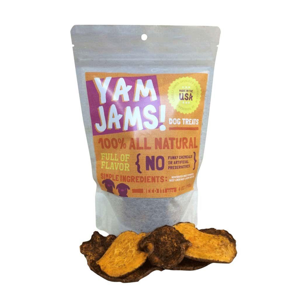 Sweet Potato w/ Beef Liver Dust