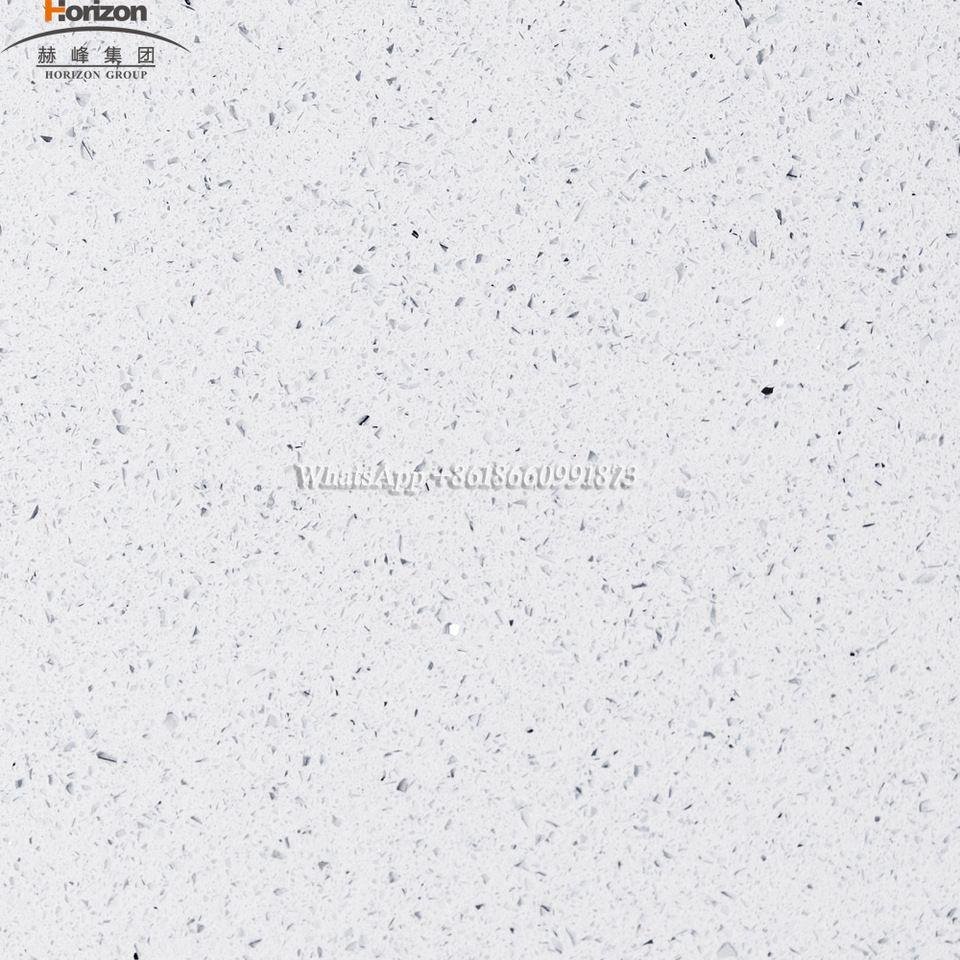 China Best Selling Sparkling White Quartz Price White Star Quartz