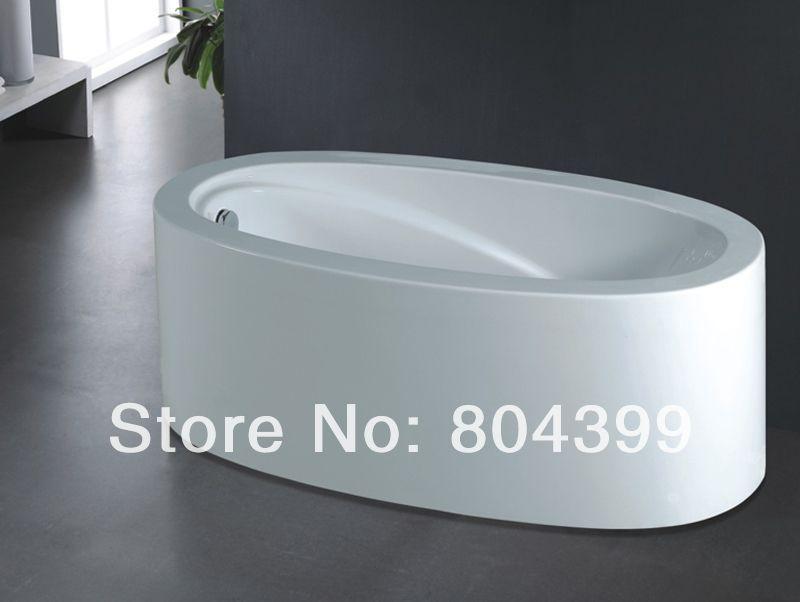 B529 simple acrylic bathtub,simple portable bathtub,single bathtub ...