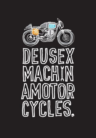Deus Ex Machina Grafis Kartun Wallpaper Ponsel
