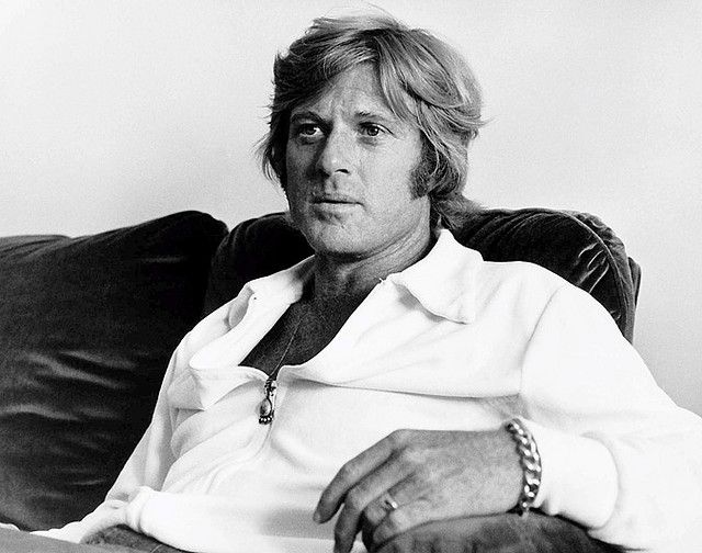 A casual Robert Redford