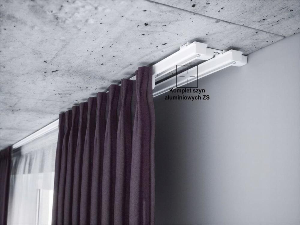 Szyna Karniszowa Podwojna Biala Zs2 100 Creativa Home Decor Decor Curtains