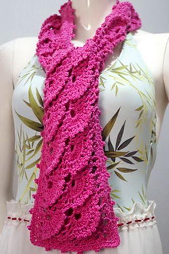 Ravelry Glenda Scarf Pattern By Girlie D De Los Reyes Crochet