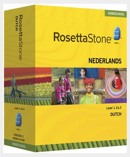 Rosetta Stone 174 1 2 Amp 3 Dutch Nederlands Homeschool With