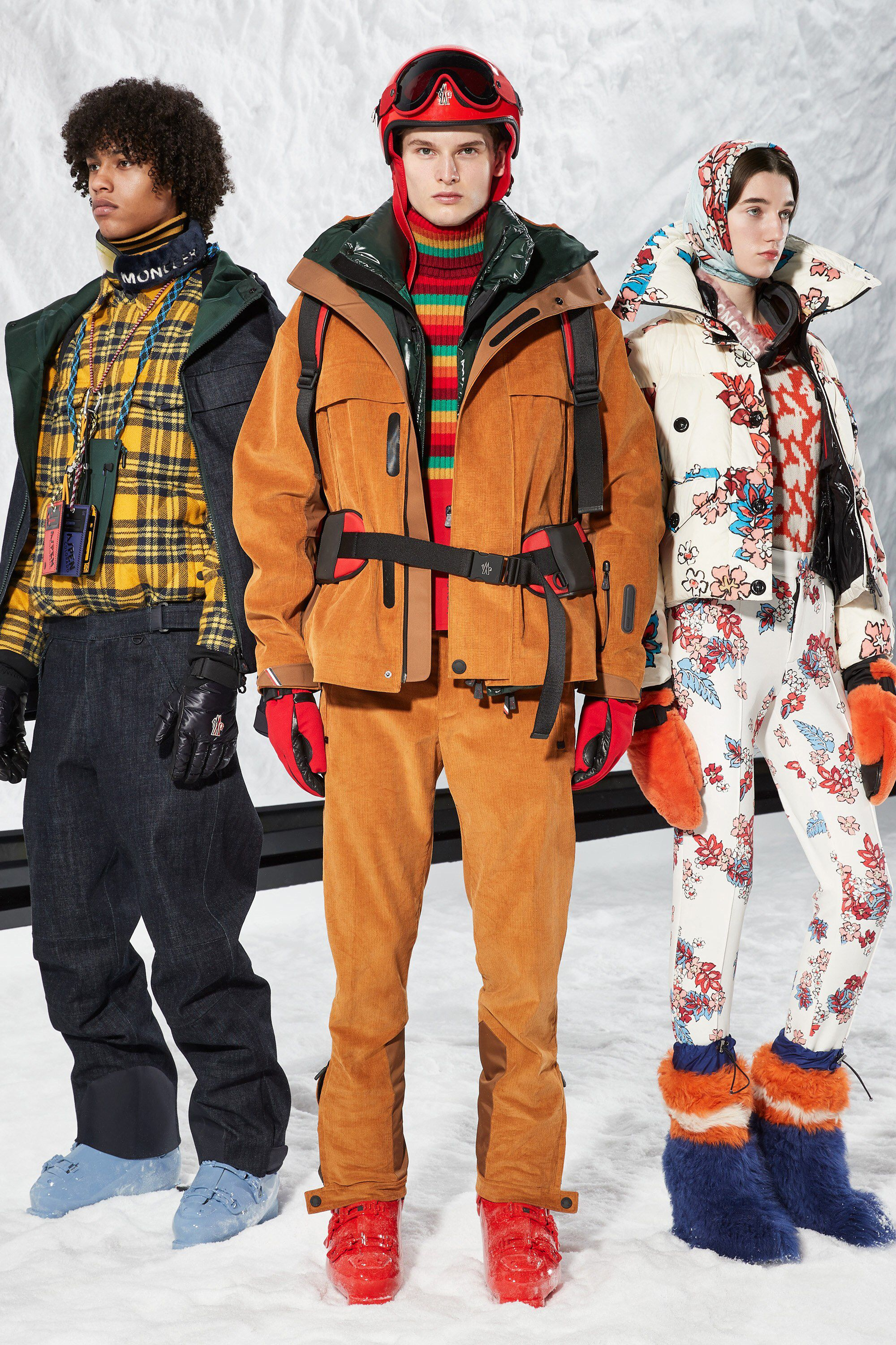 Moncler 3 Grenoble Fall 2018 Ready-to-Wear Fashion Show Collection