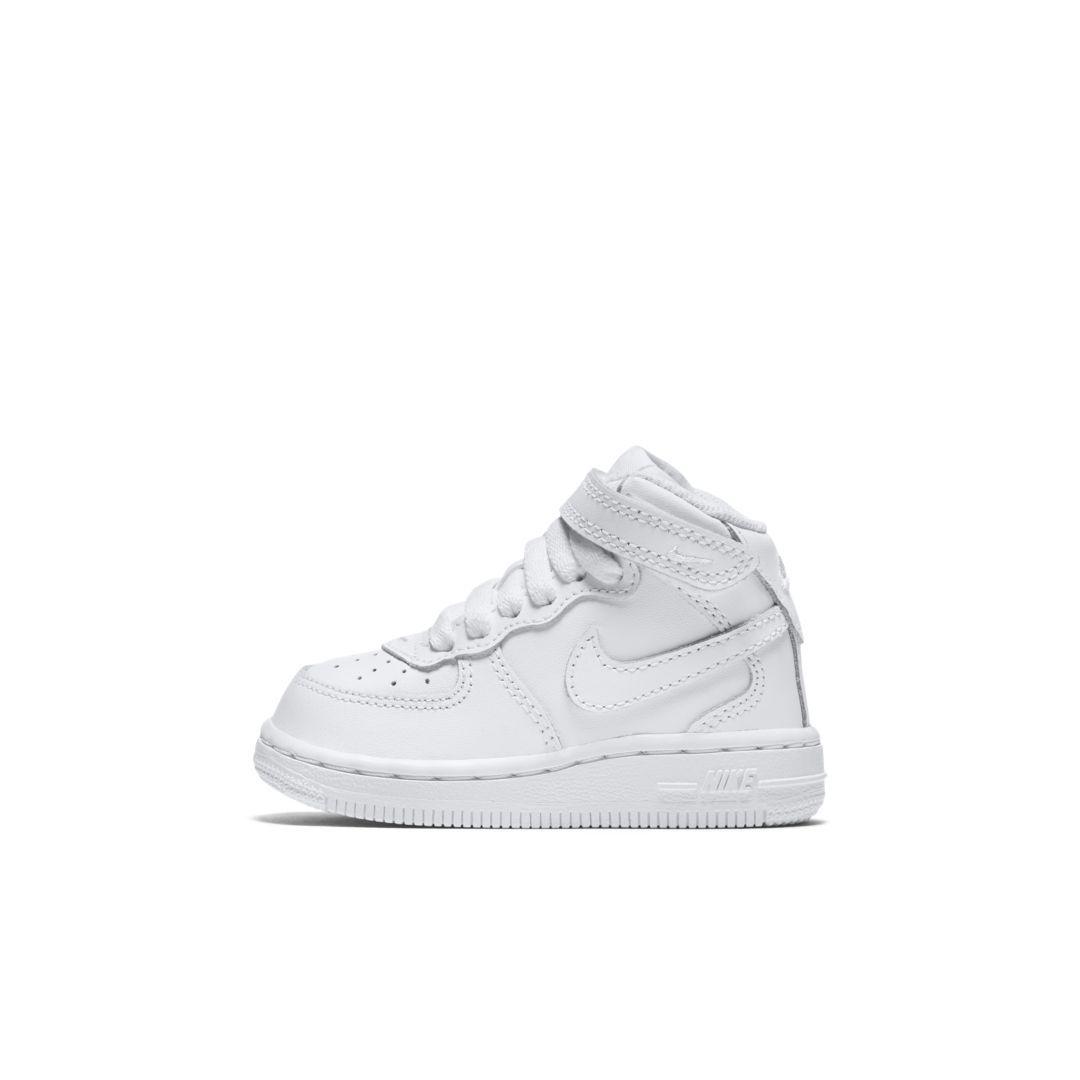 Force 1 Mid BabyToddler Shoe | Toddler shoes, Toddler