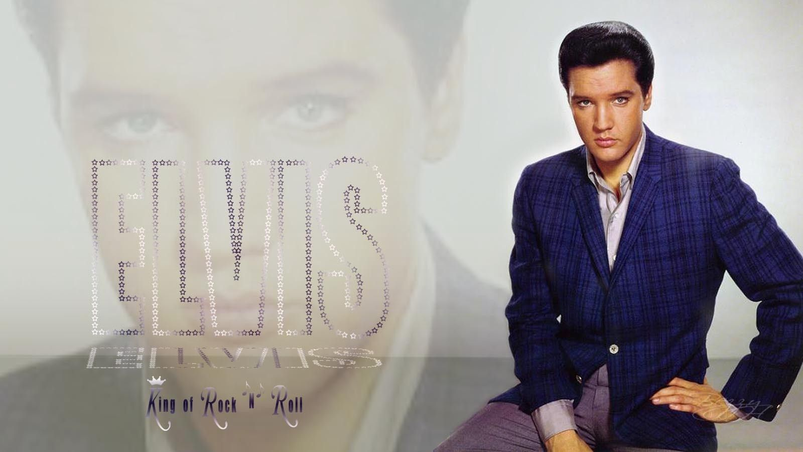 Image detail for -Black Elvis Aaron Presley - King of Rock and Roll desktop Wallpaper