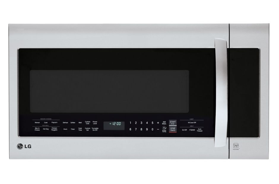 Lg Lmvm2033st Over The Range Microwave Oven With Easyclean Lg Usa Range Microwave Microwave Oven Microwave