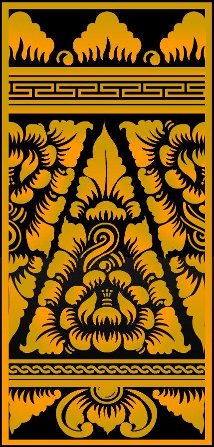 Balinese Lamak Pattern | Temple Designs | Pinterest | Balinese ...