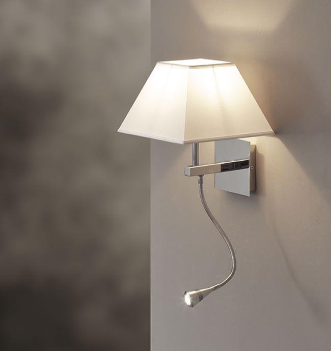 Luce calda e rilassante delle lampade led colore bianco caldo lampade led pinterest - Lampade da lettura a letto ...