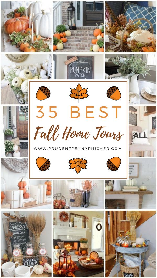 Thanksgiving Home Office Interior Design: 35 Best Fall Decor Home Tours