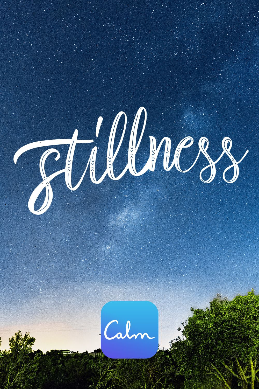 STILLNESS Calm app, Quiet confidence, Feeling stuck