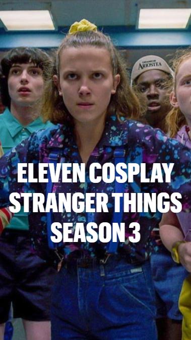 Takerlama Eleven CosplayStranger Things Season 3