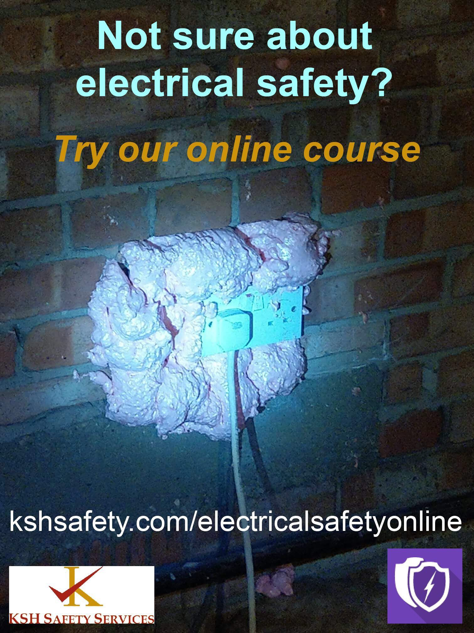 30cf41055f46 New online training course on electrical Safety available now.