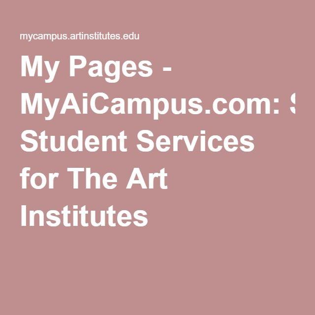 mycampus.artinstitutes.edu