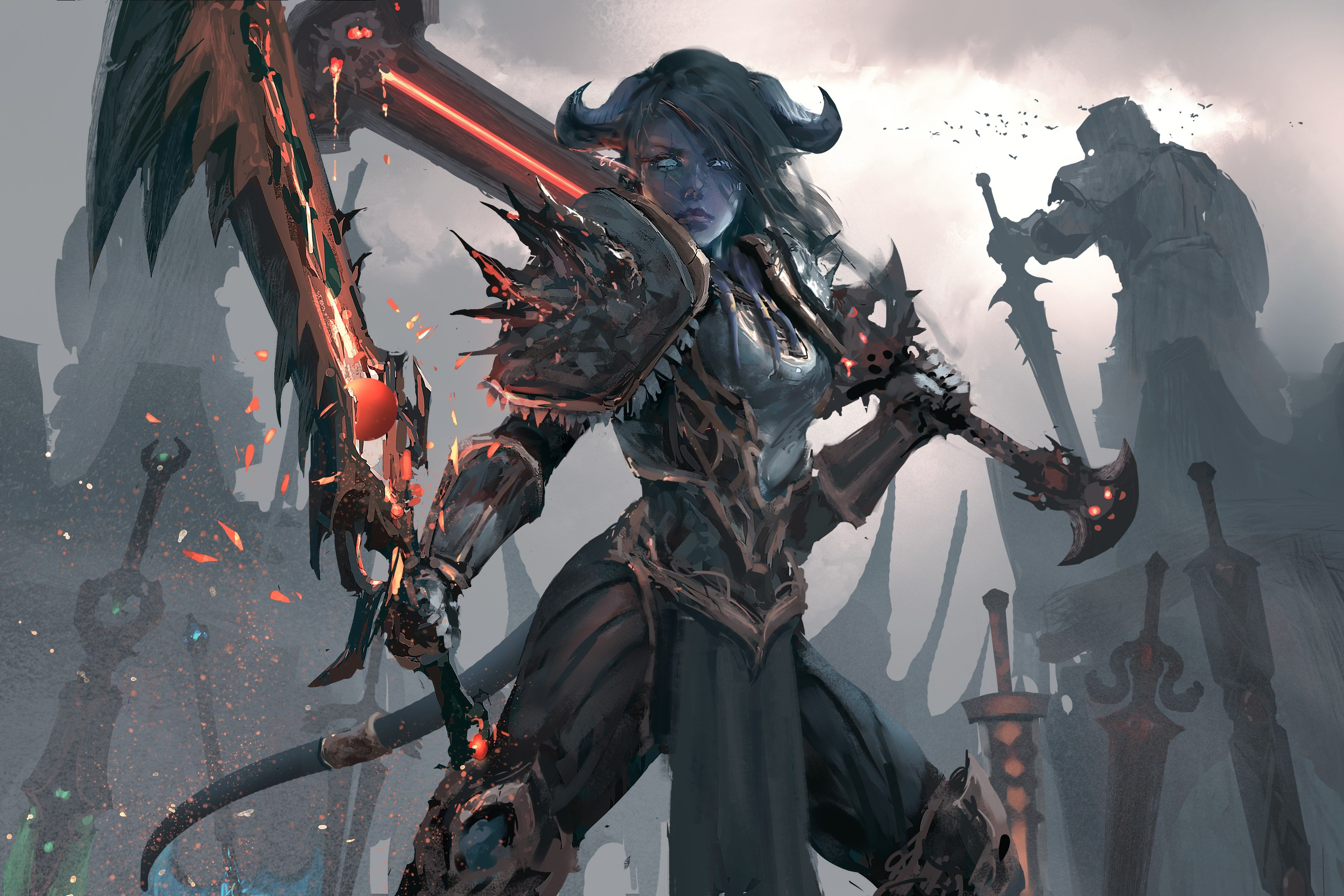 World Of Warcraft 4k Wallpaper 4200x2800 Artifact Art World Of Warcraft Warcraft Art