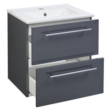 Zestaw Mebli Lazienkowych Z Umywalka Intenso Sensea Szafki Pod Umywalki W Atrakcyjnej Cenie W Sklepach Leroy Merlin Cabinet Furniture Storage