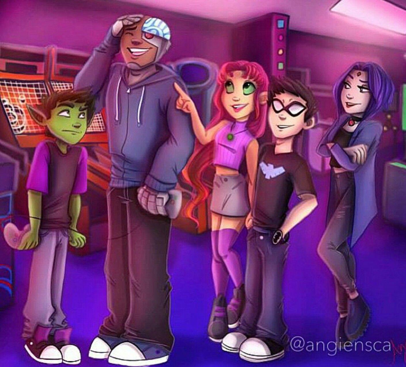 Angiensca  Angiensca  Teen Titans, Original Teen Titans -2816