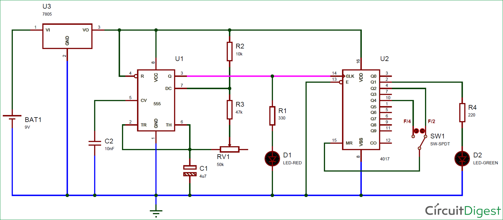 Frequency Divider Circuit Diagram Electronic Diagrams Pir Sensor Using Lm324