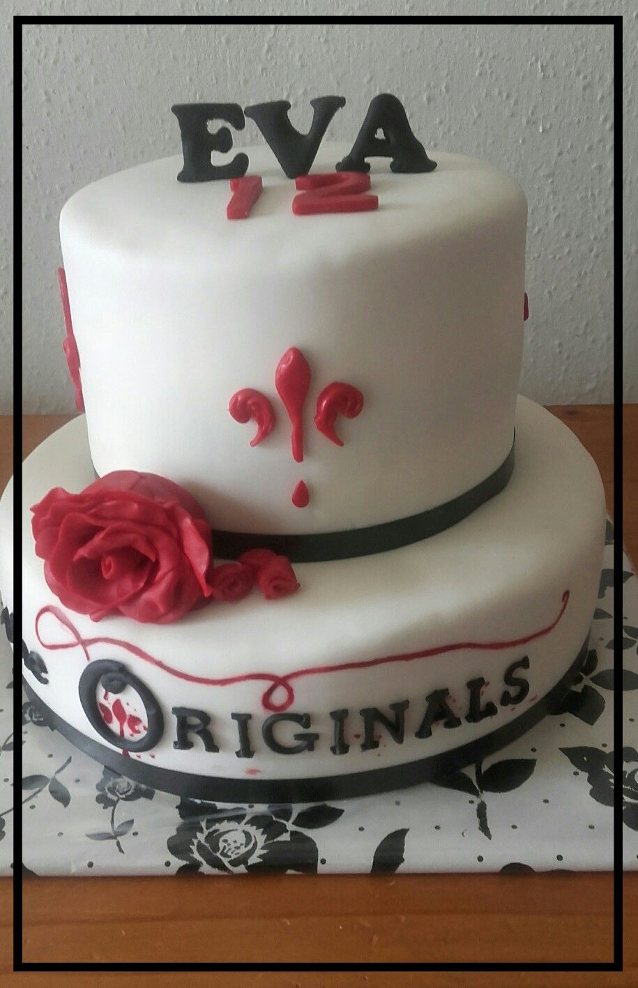 The Originals Birthday Cake Birthday In 2019 Birthday