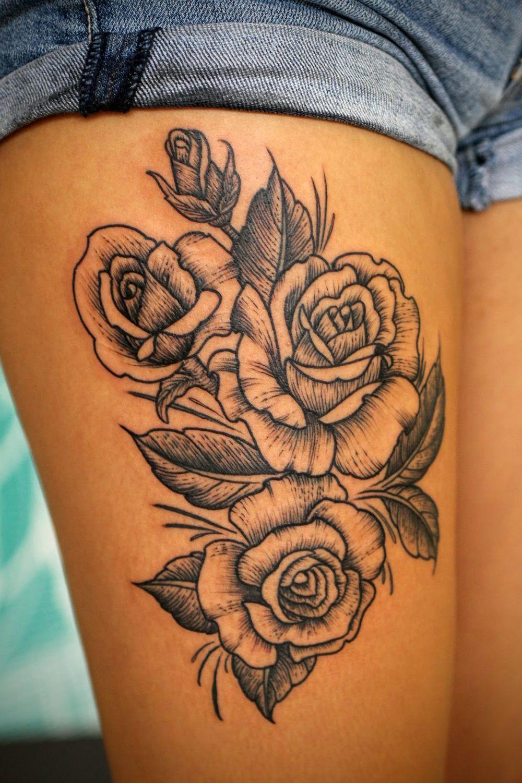 Kristin rose tattoo on hip hip tattoo sea tattoo
